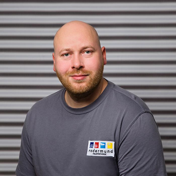 Mathias S., Teammitglied Rodermund Haustechnik