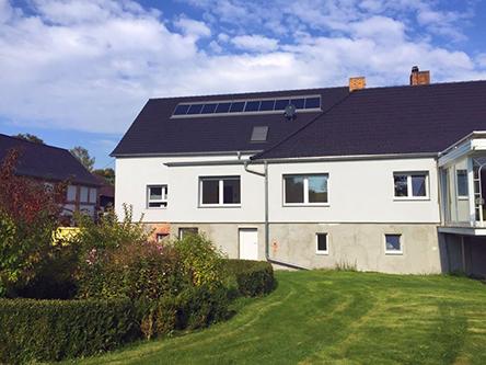 Solvis Fera Dach zugeschnitten